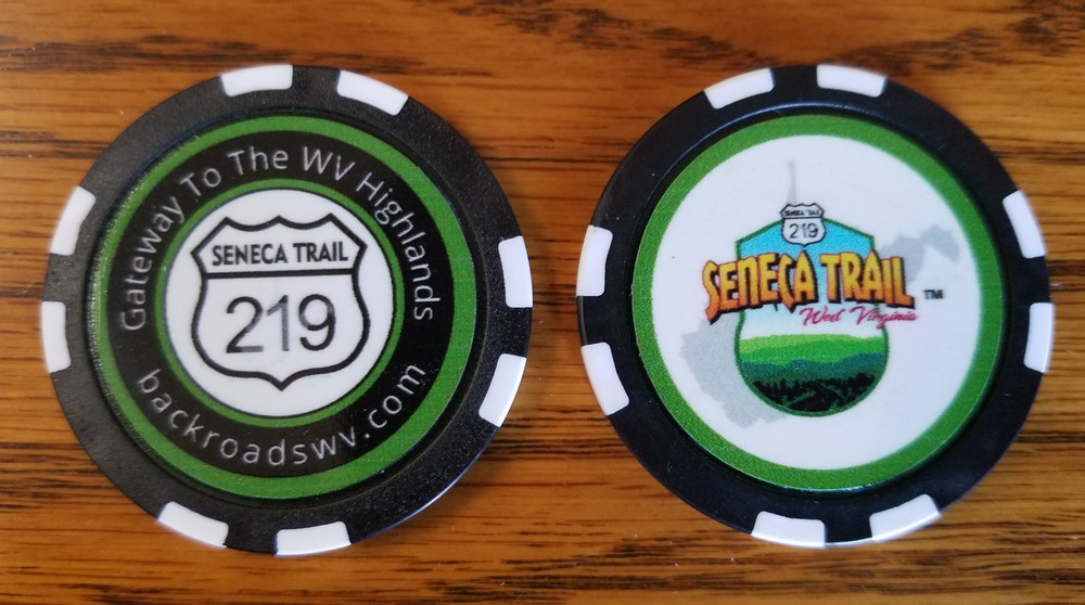 SENECA TRAIL POKER CHIP