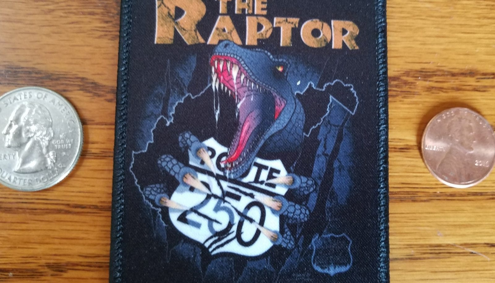 THE RAPTOR – FULL COLOR PATCH